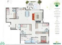 תוכנית דירה 3